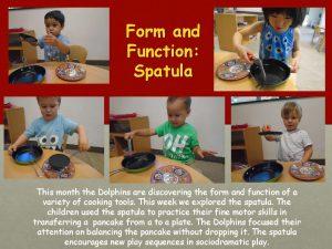 Using a Spatula