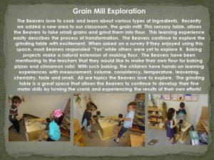 grain mill panel