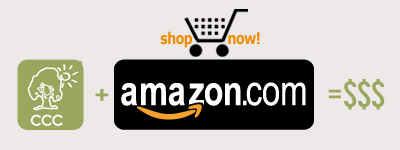 Shop Amazon, support CCC