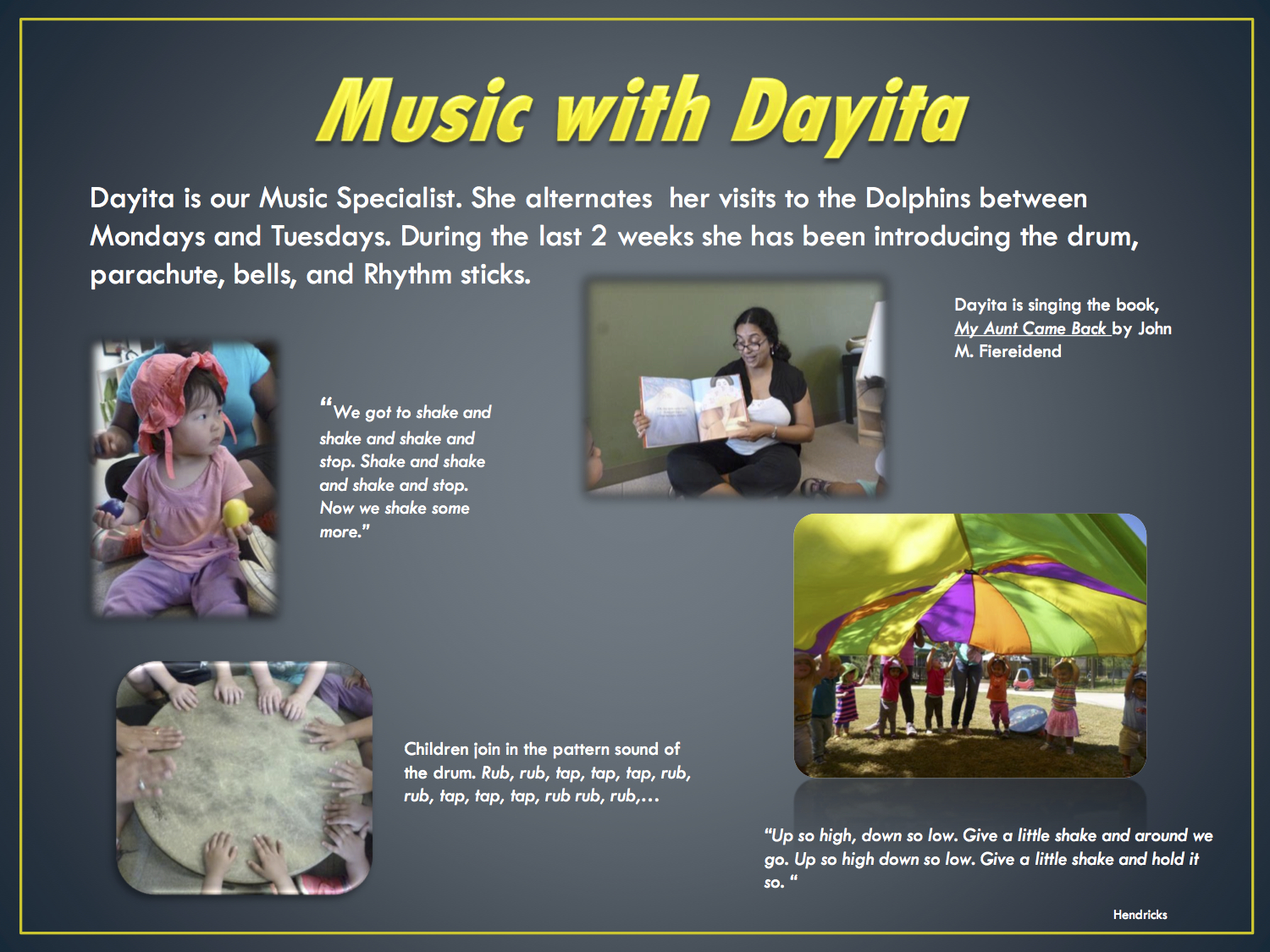 Music time with Dayita
