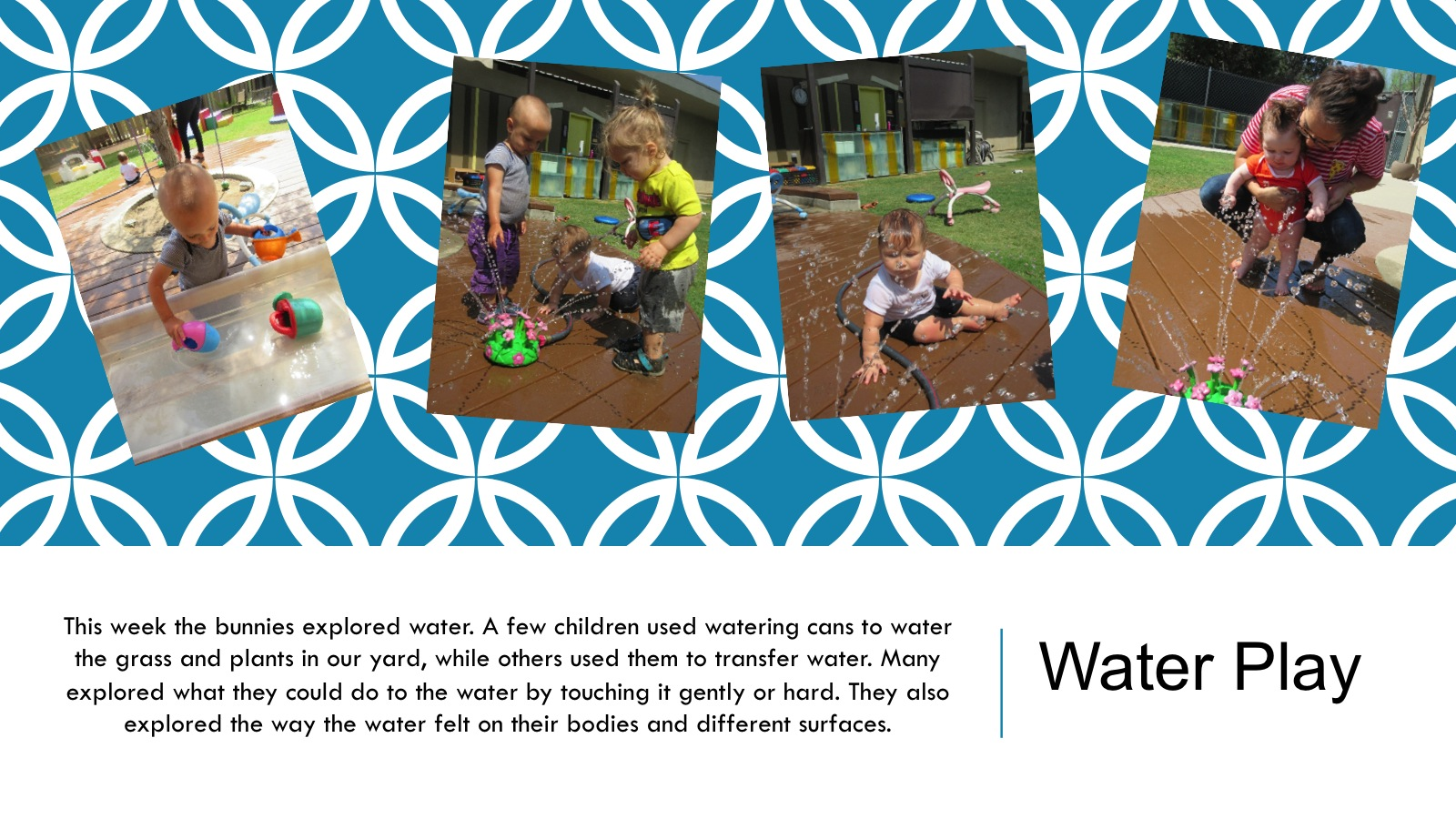 Water play panel