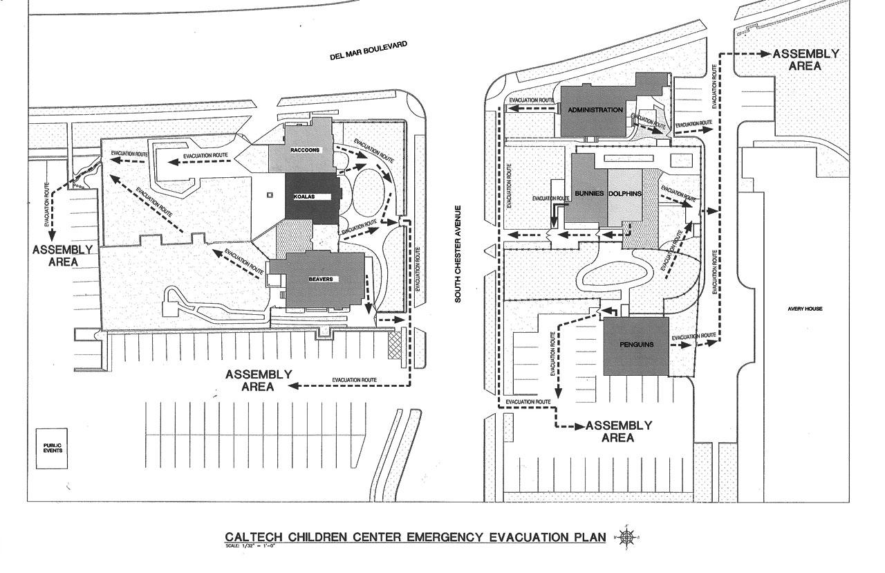 CCC- Evacuation Map