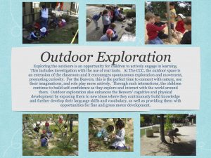 Beavers' outdoor exploration