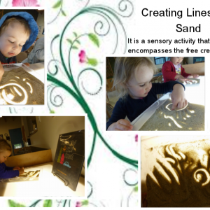 Creating Lines with Sand