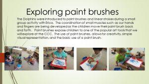 Exploring paint brushes