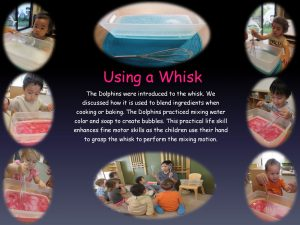 Using a whisk
