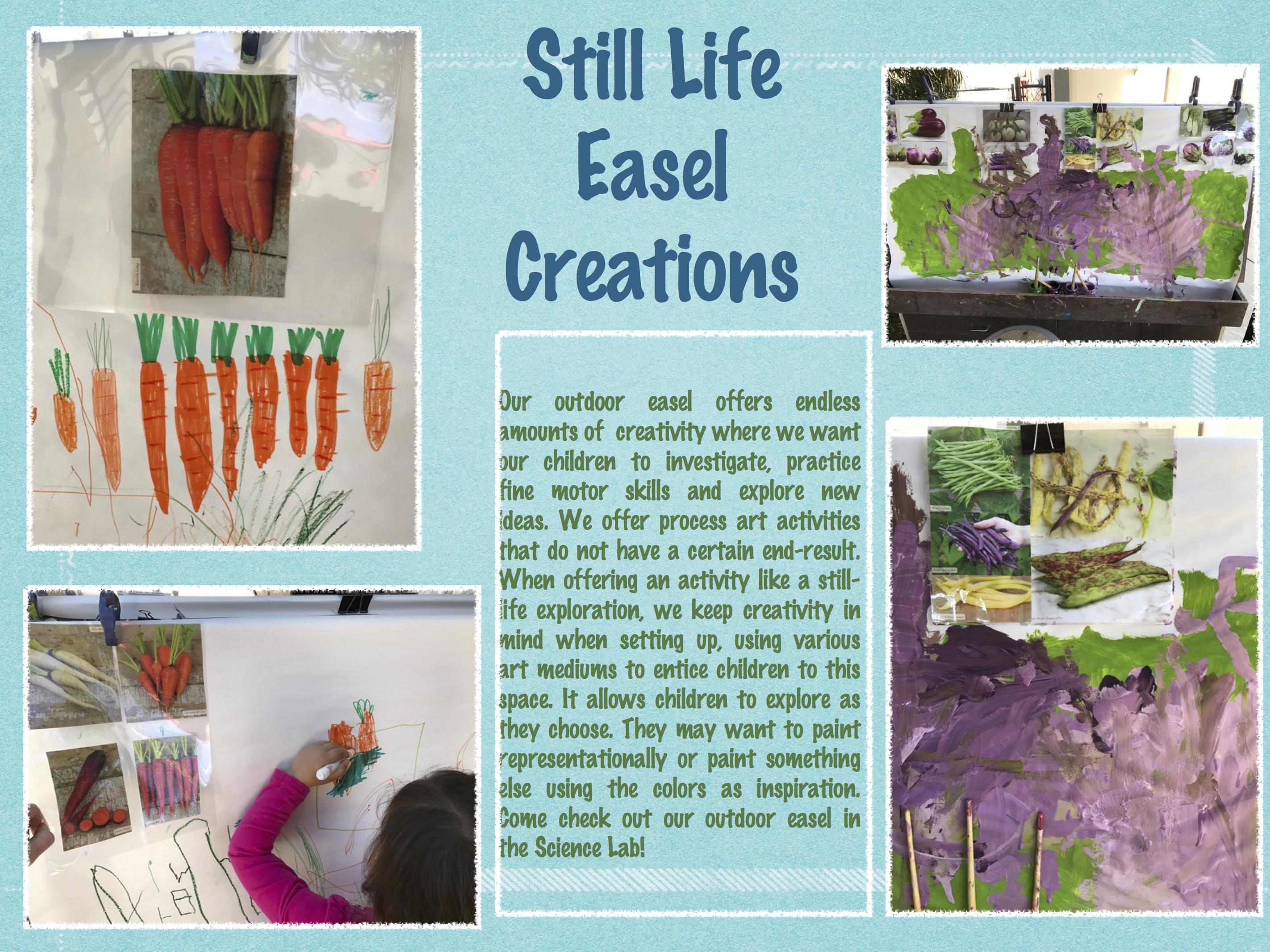 Still Life Easel Creations