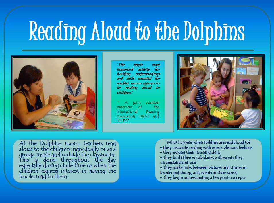 """""""The single most important activity for building understandings and skills essential for reading success appears to be reading aloud to children."""""""