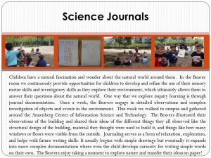 Science Journal;-Reflection Panel