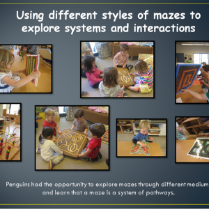 Using different styles of mazes to explore systems and interactions