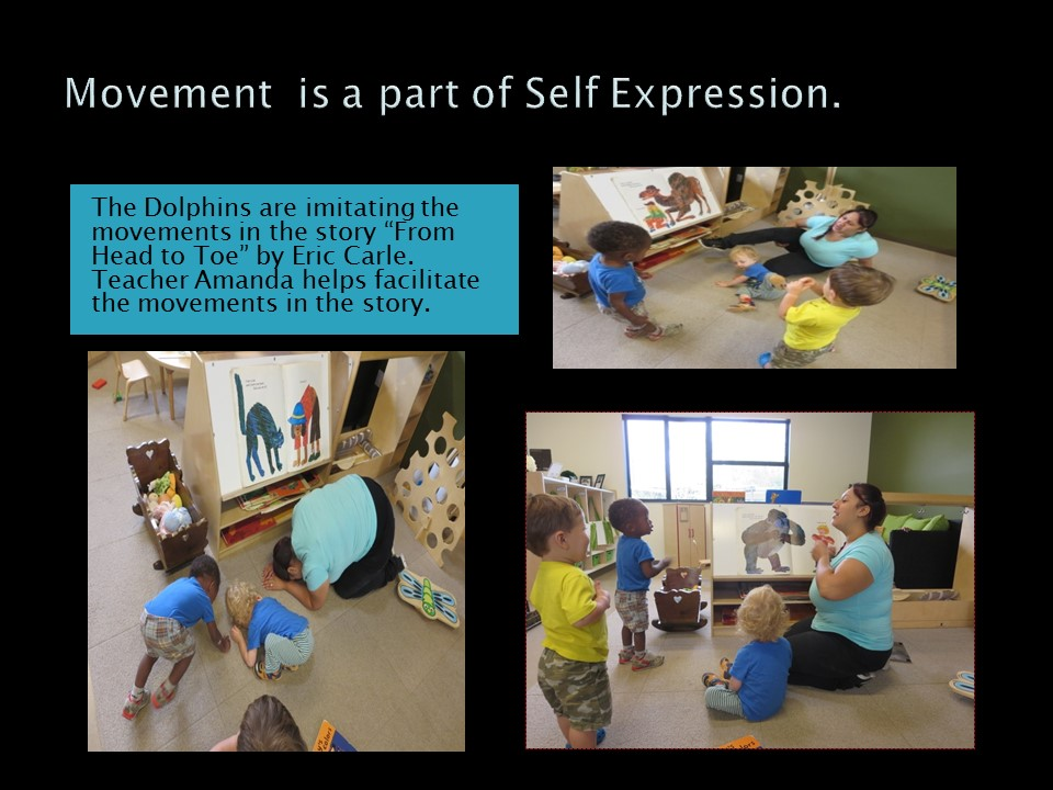 Movement is A Part of Self Expression