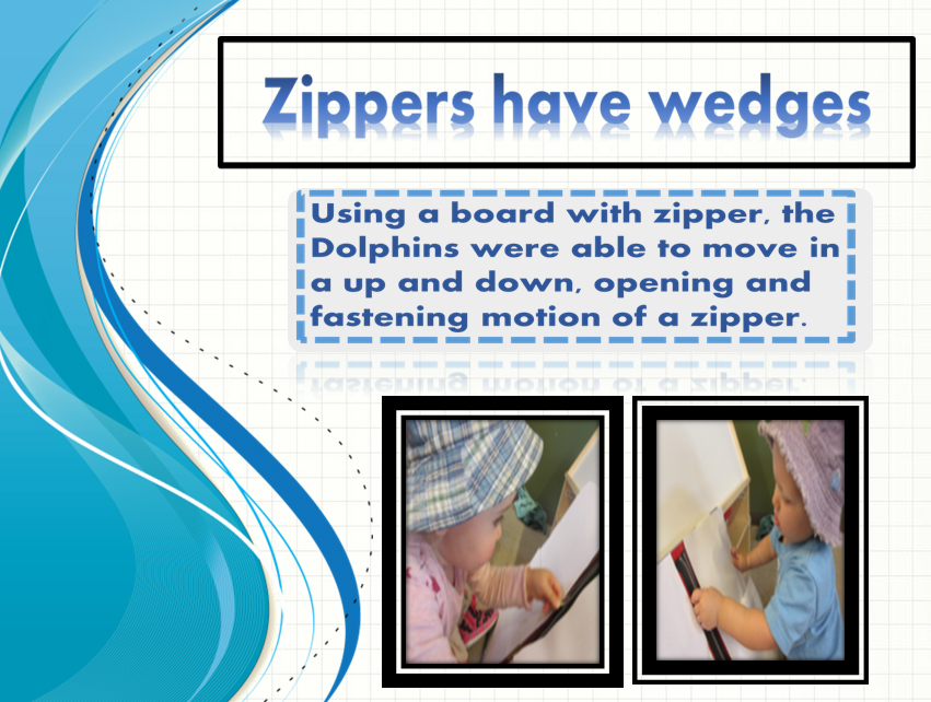 Zippers Have Wedges