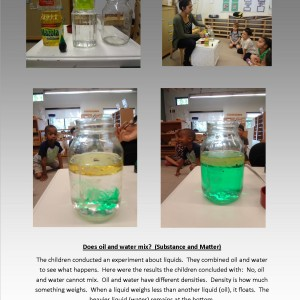 Oil and water (mixtures)